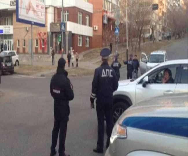 रूसी खुफिया एजेंसी के कार्यालय पर हमला, तीन मरे