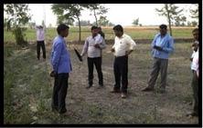 84 एकड़ तालाब की भूमि कब्जाई, पैमाइश शुरू