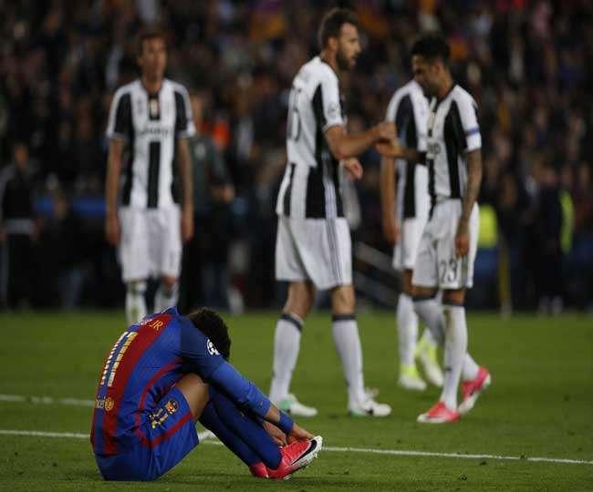 जुवेंटस ने बार्सिलोना को हराकर चैंपियंस लीग सेमीफाइनल में बनाई जगह