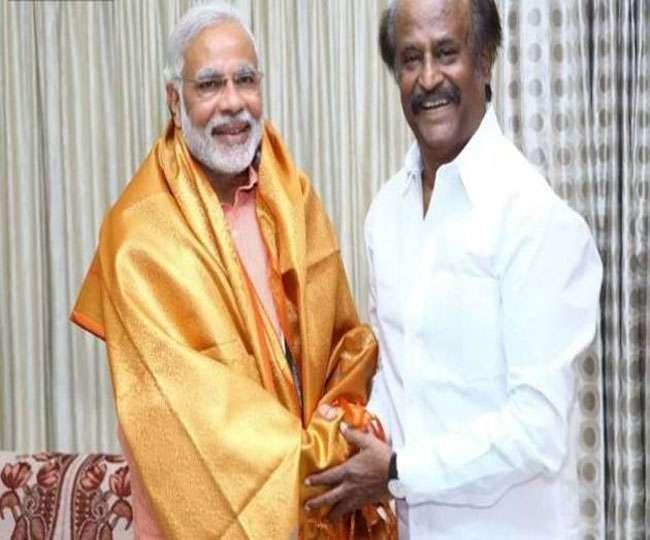 प्रधानमंत्री नरेंद्र मोदी से मुलाकात कर सकते हैं रजनीकांत