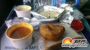 खुलासा: खाने लायक नहीं है रेलवे का खाना