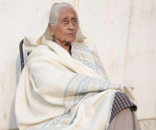 91 वर्षीय स्वतंत्रता सेनानी में देशभक्ति का जज्बा कायम