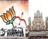 BMC चुनावः  शिवसेना से मात्र 2 सीट पीछे भाजपा, पंकजा ने दिया इस्तीफा