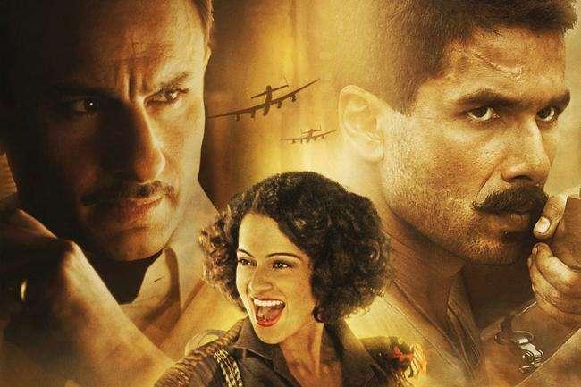 फिल्म रिव्यू: युद्ध और प्रेम 'रंगून' (चार स्टार)