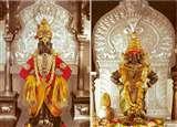यहां कृष्ण की पूजा उनकी पत्नी रुक्मिणी के साथ होती है
