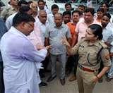 भाजपा नेता के पति के चालान पर हंगामा, सीओ बोलीं- दर्ज करा दूंगी FIR