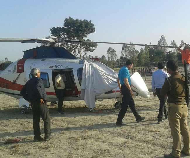 आपात लैंडिंग से पहले पेड़ से भी टकराया था आजम का हेलीकॉप्टर