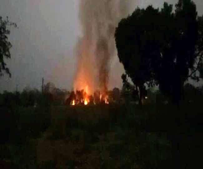 जबलपुर की आयुध कारखाने में फटे 200 से ज्यादा बम
