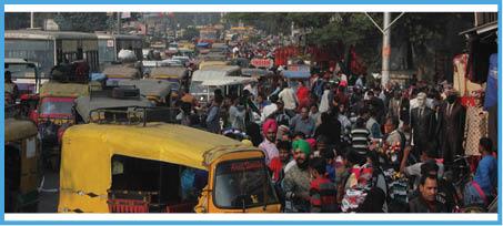 यातायात पुलिस चुनाव में, हर मोड़ पर भयंकर जाम