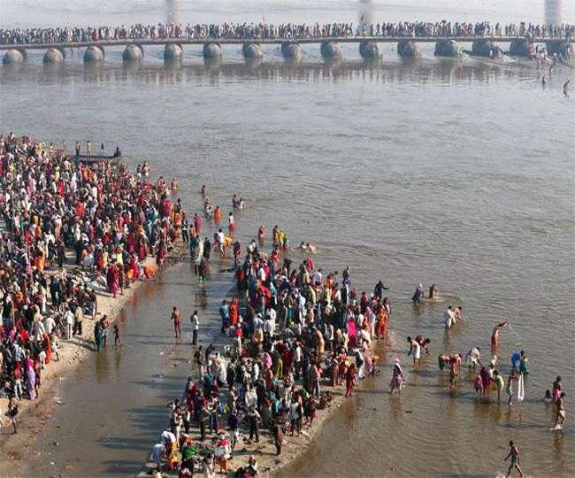 मौनी अमावस्या स्नान पर्व आज, संगम नगरी में उमड़ा जनसैलाब
