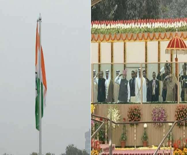 गणतंत्र दिवस पर राजपथ पर दिखा देश की संस्कृति और शौर्य का प्रदर्शन