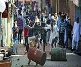 जम्मू-कश्मीर: ईद पर भी जारी है पत्थरबाजी, सुरक्षा बलों और प्रदर्शनकारियों में भिडंत