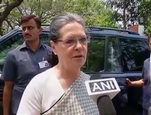 राष्ट्रपति चुनाव के दौड़ में सोनिया गांधी के नाम पर भी विचार