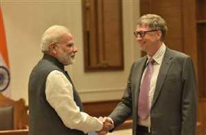 मोदी ने जो कहा, उस पर अमल किया : बिल गेट्स