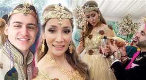 अपनी शादी में सोफिया हयात का अनोखा अंदाज़