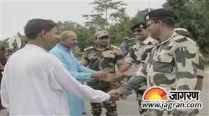 BSF ने BGB के जवानों को दी ईद की बधाई