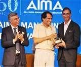 दैनिक जागरण के प्रधान संपादक संजय गुप्त आइमा मैनेजिंग इंडिया अवार्ड से सम्मानित