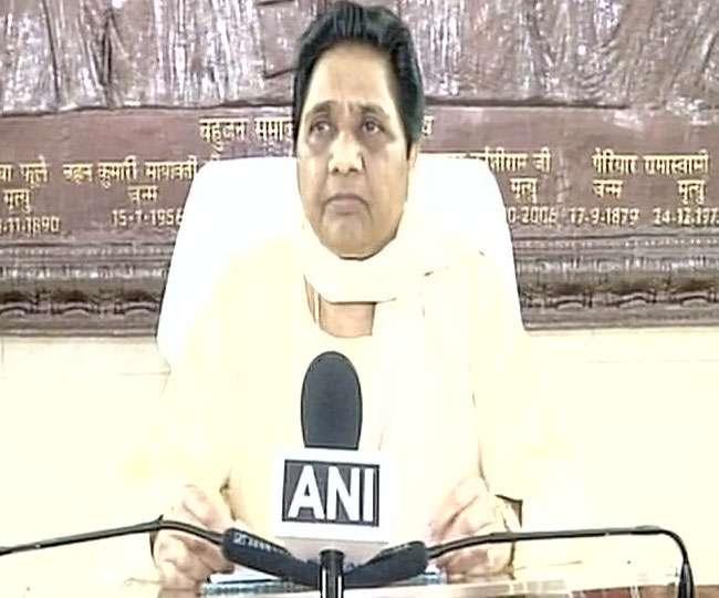 बिहार की राजनीति पर बसपा सुप्रीमो बोलीं- लोकतंत्र खतरे में है