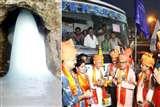 बाबा अमरनाथ यात्रा के लिए 2280 श्रद्धालुओं का पहला जत्था रवाना
