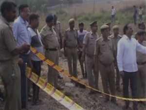 UP में रेलवे ट्रैक के पास ब्लास्ट