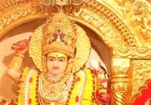 नवरात्रि का पावन पर्व शुरू, सज गए मंदिर