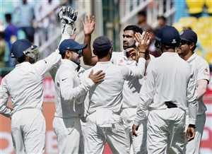 धर्मशाला टेस्ट में भारत ने ऑस्ट्रेलिया को किया पस्त