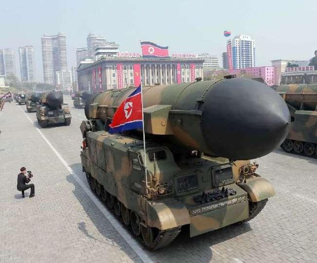 युद्ध की आशंकाओं के बीच नॉर्थ कोरिया ने फिर किया बैलेस्टिक मिसाइल टेस्ट