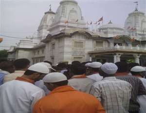 गोरखनाथ मंदिर में लगा सीएम योगी आदित्यनाथ का जनता दरबार