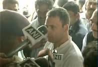 देखें तस्वीरें : सहारनपुर के बार्डर पर कांग्रेस उपाध्यक्ष राहुल गांधी