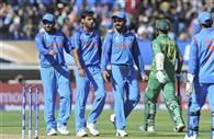 तस्वीरें : भारतीय चौकड़ी ने निकाली पाकिस्तान की हेकड़ी