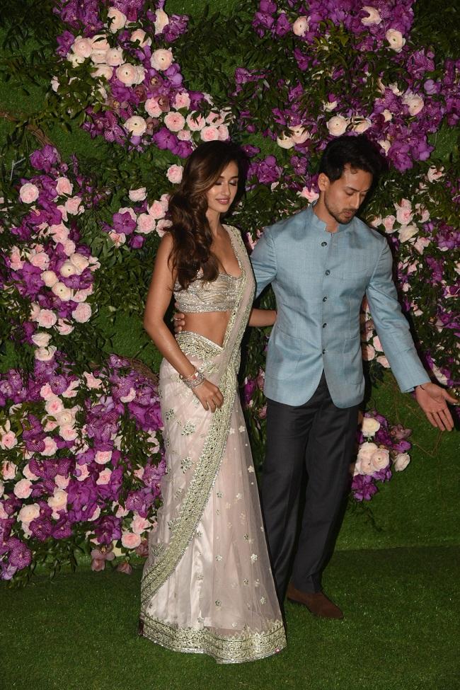 Akash Ambani Shloka Mehta Wedding: दिखी टाइगर श्रॉफ और दिशा पटानी की बॉन्डिंग, तस्वीरें