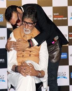 photos: राम गोपाल वर्मा और अमिताभ बच्चन की सरकार की ट्रेलर लॉन्चिंग