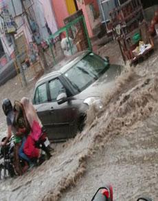 देखें तस्वीरें: बारिश से पानी-पानी हुए हरियाणा के कई शहर