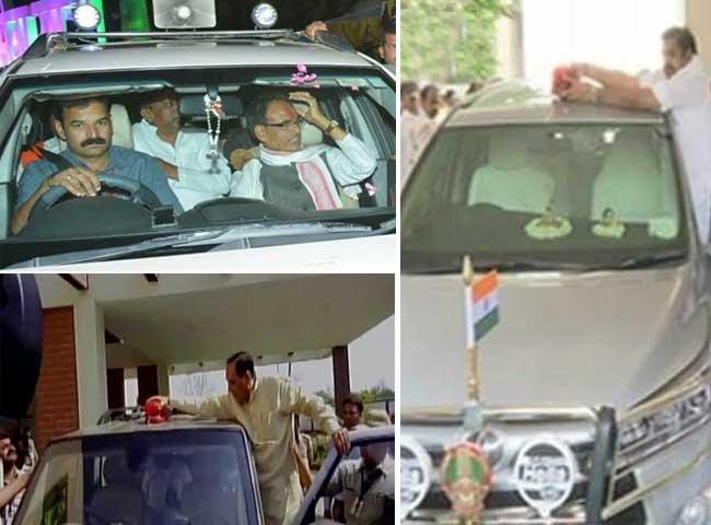 मोदी के फैसले का असर, खत्म हो रही VIP परंपरा, देखें तस्वीरें