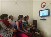 देखें तस्वीरें : भारत-पाकिस्तान मैच ने बढ़ाई लोगों की धड़कनें