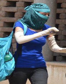 देखें तस्वीरें: गर्मी से सिटी ब्यूटीफुल चंडीगढ़ का बुरा हाल