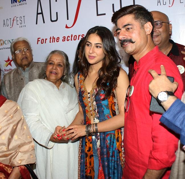 सिंटा और 48 घंटे फ़िल्म प्रोजेक्ट्स कार्यक्रम में पहुंची सारा अली ख़ान समेत ये सितारे, देखें तस्वीरें
