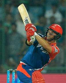 दिल्ली ने हैदराबाद को 6 विकेट से हराया, देखें तस्वीरें