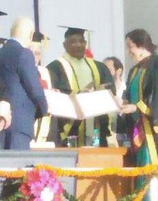 देखें तस्वीरें: पीयू के दीक्षांत समारोह में उपराष्ट्रपति ने किया छात्रों को सम्मानित