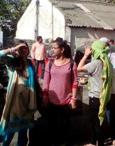 देखें तस्वीरेंः हरियाणा रोडवेज की हड़ताल से भटक रहे यात्री