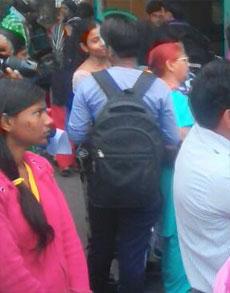 महाराष्ट्र के डॉक्टरों के समर्थन में दिल्ली के अस्पतालों में हड़ताल
