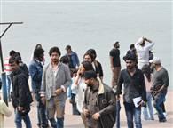 PICS: ऋषिकेश में बॉलीवुड स्टार इरफान खान की फिल्म की शूटिंग शुरू