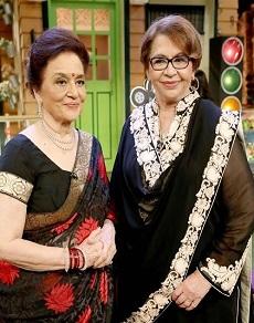कपिल शर्मा के शो में जब पहुंची दो पक्की सहेलियां आशा पारेख और हेलन, देखें तस्वीरें