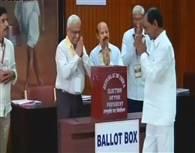 तस्वीरें : राष्ट्रपति चुनाव संपन्न, 20 जुलाई को आएंगे परिणाम