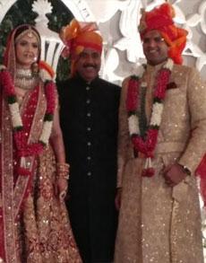 तस्वीरों के जरिये जानें किस सांसद की शादी में पहुंचे मोदी के मंत्री