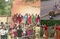 तस्वीरें : अहमदाबाद में शिंजो-मोदी का मेगा रोड शो, साबरमती आश्रम का किया दौरा