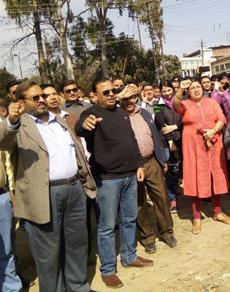 pics: मांगों को लेकर बैंक कर्मी हड़ताल पर, किया प्रदर्शन