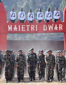 pics: भारत नेपाल संयुक्त सैन्य प्रशिक्षण 'सूर्य किरण 11' हुआ शुरू