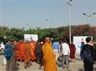 अंतरराष्ट्रीय बौद्ध महोत्सव का दूसरा दिन, देखें तस्वीरें....