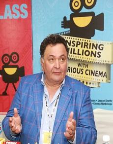 जागरण फिल्म फेस्टिवल में पहुंचे ऋषि कपूर और हुई फिल्मी सफर को लेकर बात
